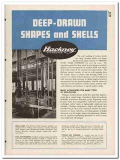 Pressed Steel Tank Company 1945 vintage metal catalog Hackney shapes