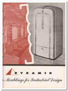 Pyramid Metals Company 1945 vintage catalog mouldings industrial