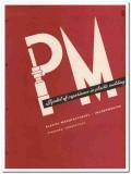 Plastic Manufacturers Inc 1945 vintage catalog molding parts