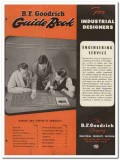 B F Goodrich Company 1945 vintage rubber catalog synthetic products
