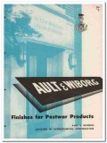Interchemical Corp 1945 vintage paint catalog Ault Wiborg finishes
