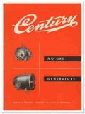 Century Electric Company 1945 vintage catalog motors generators