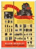 Allen-Bradley Company 1945 vintage electrical catalog motor controls