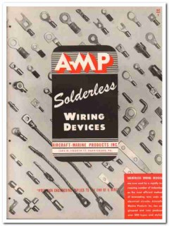 Aircraft-Marine Products Inc 1945 vintage electrical catalog wiring