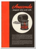 Anaconda Wire Cable Company 1945 vintage electrical catalog magnet