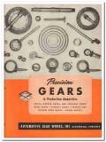 Automotive Gear Works Inc 1945 vintage industrial catalog precision