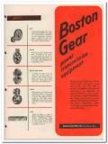 Boston Gear Works Inc 1945 vintage industrial catalog power equipment