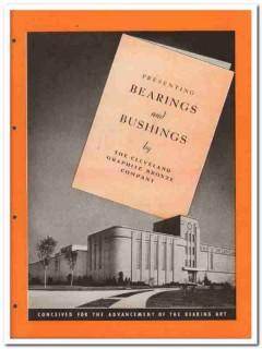 Cleveland Graphite Bronze Company 1945 vintage industrial catalog