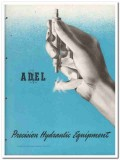 Adel Precision Products Corp 1945 vintage industrial catalog hydraulic