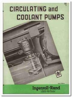 Ingersoll-Rand 1945 vintage industrial catalog pumps circulating