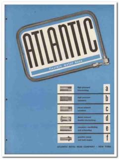 Atlantic Metal Hose Company 1945 vintage industrial catalog flexible