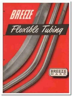 Breeze Corp 1945 vintage industrial catalog flexible metal tubing