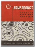 Armstrong Cork Company 1945 vintage industrial catalog gaskets packing