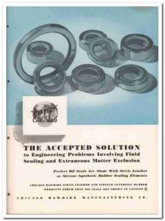 Chicago Rawhide Mfg Company 1945 vintage industrial catalog oil seals