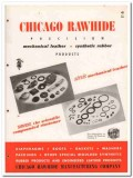 Chicago Rawhide Mfg Company 1945 vintage industrial catalog leather