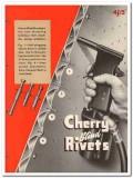 Cherry Rivet Company 1945 vintage industrial catalog aluminum steel