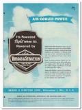 Briggs Stratton Corp 1945 vintage industrial catalog gasoline engines