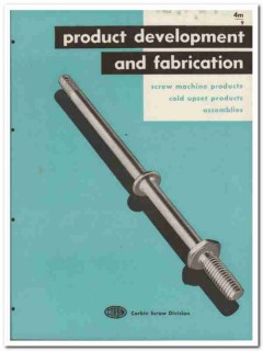American Hardware Corp 1945 vintage industrial catalog Corbin Screw