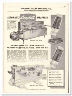 Hudson Sharp Machine Company 1956 vintage dairy catalog wrapper