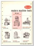 Bullard Company  1965 vintage industrial catalog machine tools modern