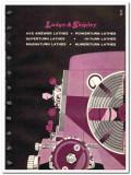 Lodge Shipley Company 1965 vintage industrial catalog lathes