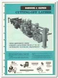 Bardons Oliver Inc  1965 vintage industrial catalog cutting-off lathes