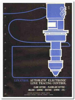 Canadian Westinghouse Company 1965 vintage industrial catalog Linatrol