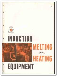 Ajax Magnethermic Corp 1965 vintage industrial catalog melting heating
