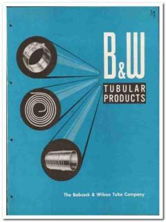 Babcock Wilcox Tube Company 1946 vintage metal catalog tubular product