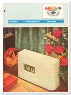 Catalin Corp 1946 vintage plastic catalog cast phenolics molding resin