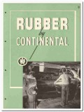 Continental Rubber Works 1946 vintage catalog extruded molded