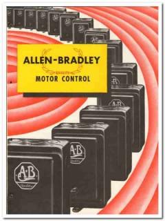 Allen-Bradley Company 1946 vintage electrical catalog motor control