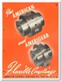 American Flexible Coupling Company 1946 vintage industrial catalog