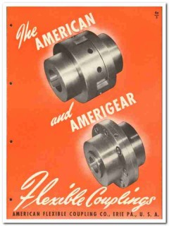 American Flexible Coupling Company 1946 vintage industrial catalog