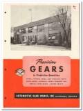 Automotive Gear Works Inc 1946 vintage industrial catalog precision