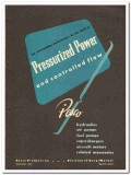 Pesco Products Company 1946 vintage industrial catalog hydraulic power