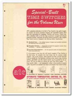 Automatic Temperature Control Company 1946 vintage electrical catalog
