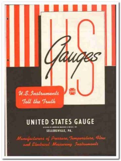 American Machine Metals Inc 1946 vintage catalog United States Gauge