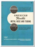 American Brass Company 1946 vintage industrial catalog flexible hose