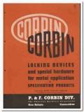 American Hardware Corp 1946 vintage catalog locking devices P F Corbin