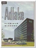 Adams Westlake Company 1958 vintage windows catalog aluminum Adlake