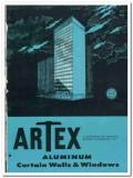 Arnold Altex Aluminum Company 1958 vintage windows catalog curtain