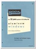 Bogert Carlough Company 1958 vintage window catalog aluminum projected
