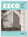 Ceco Steel Products Corp 1958 vintage windows catalog aluminum screens