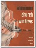 Industrial Engineering Works Inc 1958 vintage windows catalog church