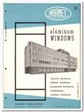 Marmet Corp 1958 vintage windows catalog aluminum church projected