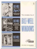 Carr Adams Collier Company 1958 vintage windows catalog Bilt-Well