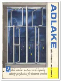 Adams Westlake Company 1955 vintage window catalog aluminum Adlake