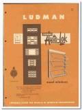 Ludman Corp 1955 vintage window catalog wood sash awning Auto-Lok