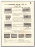 Independent Register Mfg Company 1935 vintage heating catalog grille